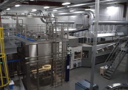 Crystal Geyser Plant Inside