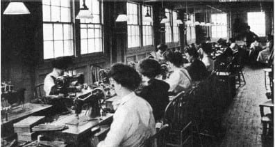 1915 Glove Machine Operators