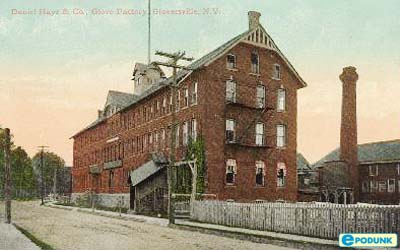 Postcard of Factory in Gloversville
