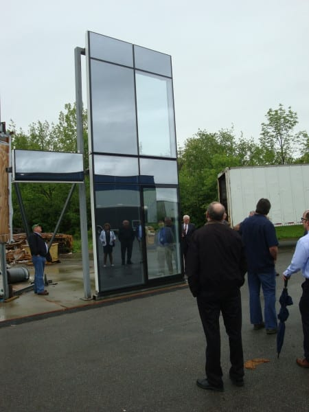 huge pane of window glass at Pioneer WIndows